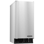 80 Lb Undercounter Nugget Ice Maker with 22 lb Storage Bin - Air Cooled - (Hoshizaki C-80BAJ-AD)