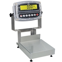 Detecto Admiral Stainless Steel Bench Scale - 30 lb x 0.002 lb, (CA8-30-190)