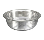 "Winco Chinese Colander - Stainless Steel With 2.5 mm Holes - 13"", (CCOD-13S)"