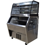 "USED - Federal HyBrid Merchandiser with Refrigerated Bottom Case and Non-Refrigerated Top Case, 48"" Wide (CD4828/RSS4SC)"