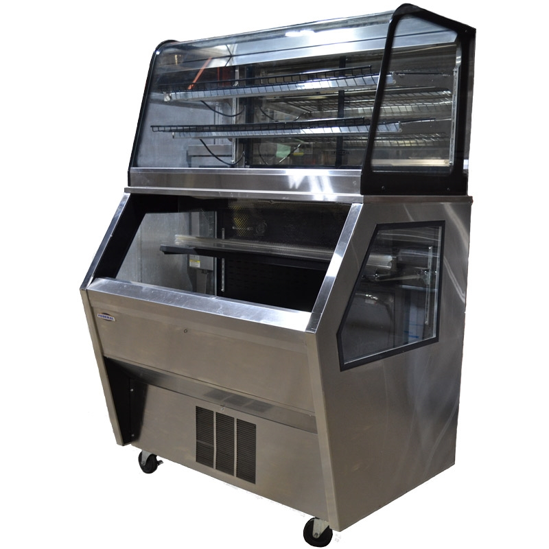 Enjoyable Used Federal Hybrid Merchandiser With Refrigerated Bottom Case And Non Refrigerated Top Case 48 Wide Cd4828 Rss4Sc Download Free Architecture Designs Pushbritishbridgeorg