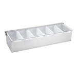 Winco 6-Compartment Condiment Dispenser, (CDP-6)
