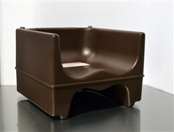 Clearance Item - Cambro Dual Seat Youth Booster Chair, Dark Brown, (200BC131)