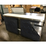 Continental model SW60-8-FB 60 Inch Wide Sandwich and Salad Food Refrigerated Food Prep Table with 8-Pans and 12 Inch Cutting Board - New Item  - Test Kitchen Demo
