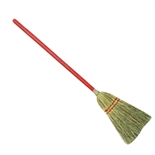 "Clearance Item - Toy Broom with 24"" Red Handle - (Royal BRM TOY)"