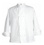 Clearance Item - Chef Revival XL Chef Coat, - 100% Cotton Twill, White  (J029-XL)