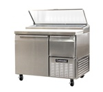 Continental 43-inch 12 Cu.Ft. (2) Door Pizza Prep Table, With (4) 1/3 Size Pans, (CPA43)
