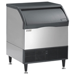 Scotsman CU3030SW-1A 310 Lb Undercounter Cube Ice Machine - Water Cooled
