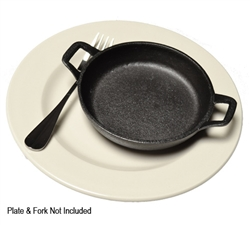 TableCraft 11-oz Cast Iron Round Mini Server, (CW30104)