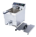 AdCraft Countertop Electric 25 Lb Fryer, (DF-12L)