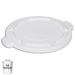 White Trash Can Lid for 44-Gallon Container | Gator Chef