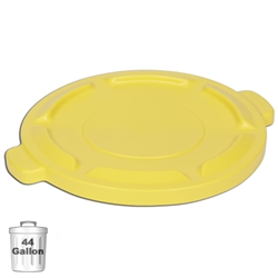 Yellow Trash Can Lid for 44-Gallon Container | Gator Chef