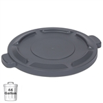 Gray Trash Can Lid for 44-Gallon Container | Gator Chef