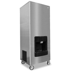 Hoshizaki 406-lb Air Cooled Crescent Cube-Style Ice Maker and Dispenser, (DKM-500BAJ)