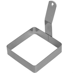 "Winco Square Egg Ring - 4"" X 4"", (EGRS-44)"