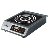 Countertop Induction Cooktop - Single Burner - 240V, 3200 Watt - (Winco EIC-400B)