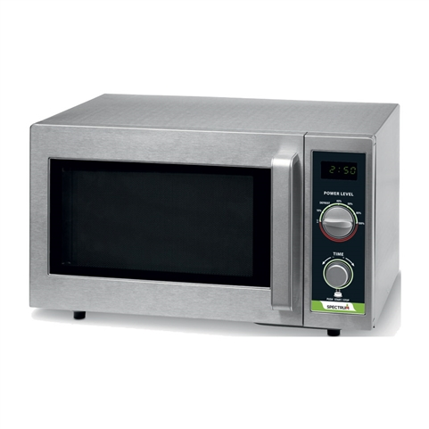 1000W Economy Microwave Oven - Dial Control (Spectrum EMW-1000SD)