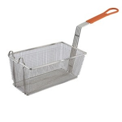 "Winco Fry Basket - 12 1/8"" X 6 1/2"" X 5 3/8"", (FB-10)"