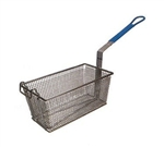"Winco Fry Basket - 13 1/4"" X 5 5/8"" X 5 5/8"", (FB-20)"
