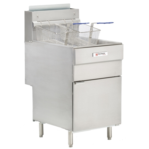 70 lb 5-Tube Deep Fryer -  150,000 BTU's - Natural Gas (Grindmaster-Cecilware FMS705NAT)
