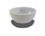 "Crestware Nappie Bowl, 5-3/4"", swirl embossed pattern, ceramic, Firenze, (FR34)"