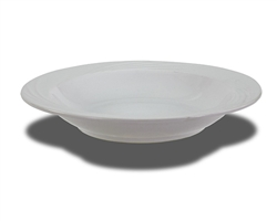 "Crestware Pasta Bowl, 11-5/8"", swirl embossed pattern, ceramic, Firenze, (FR62)"
