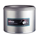 11 Qt. Round Electric Food Cooker/Warmer - 1250 Watts (Winco FW-11R500)