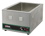 Winco FW-S600 Countertop Electric Food Warmer - 1500 Watts