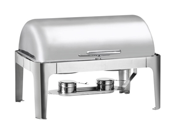 Gator Chef Heavy Weight Roll Top Chafer with Mirror Finish Stainless Steel – 8.5 Qt. Capacity