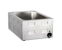 Gator Chef Electric Countertop Food Warmer 120V,1200W - Fits Full Size Steam Table Pan