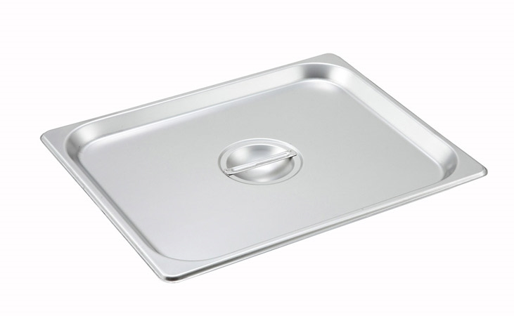 Gator Chef Half Size Solid Cover for Half Stainless Steel Steam Table Pans  - 24 Gauge (Standard Weight)
