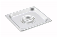 Gator Chef 1/6 Size Solid Cover for 1/6 Stainless Steel Steam Table Pans - 24 Gauge (Standard Weight)
