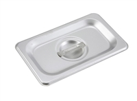 Gator Chef 1/9 Size Solid Cover for 1/9 Stainless Steel Steam Table Pans - 24 Gauge (Standard Weight)