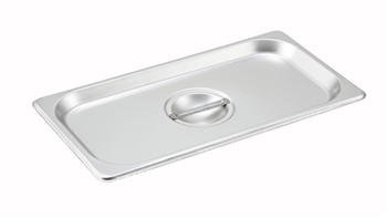 Gator Chef Full Size Solid Cover for Full Stainless Steel Steam Table Pans - 24 Gauge (Standard Weight)