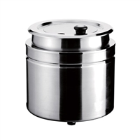 Gator Chef Electric Soup Kettel Warmer with Stainless Steel Exterior 120V/800W - 9 Qt. Capacity