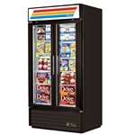 True GDM-35F-LD 2-Glass Door Freezer Merchandiser