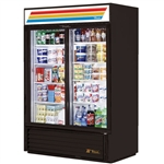 True GDM-47-LD 2-Slide Glass Door Refrigerated Merchandiser