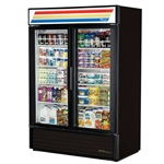 True GDM-49-HC~TSL01 2-Swing Glass Door Refrigerated Merchandiser