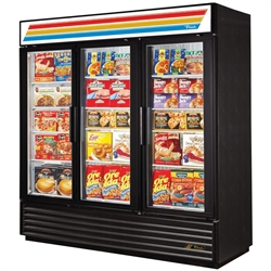 True GDM-72-HC~TSL01 3-Door 72 Cu.Ft. Refrigerated Merchandiser