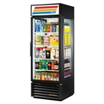 True GEM-23-LD 23 Cu.Ft. Glass End Merchandiser