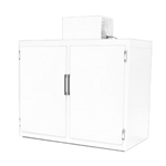 Norlake Two-Section Milk Storage Cooler - (28) Case Capacity, (GR422WVW/0 )