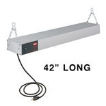 "Hatco GRAH-42 Glo-Ray 950 Watt Strip Heater, Infrared Food Warmer - 42"" Long (GRAH42120TCCS)"