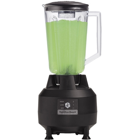 Hamilton Beach ½ Peak Hp Commercial Bar Blender with 44 Ounce Polycarbonate Jar (HBB908)