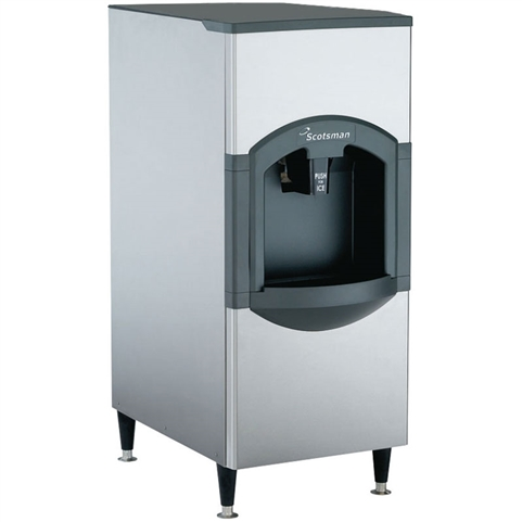 Scotsman Hotel Ice Dispenser - 120 Lb Storage Capacity, (HD22B-1H)