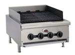 "Wells HDCB2430G 24"" Heavy Duty Gas Countertop Radiant Charbroiler"
