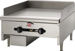Wells 24 Inch Thermostatic Griddle HDTG2430G | Commercial Cooking Equipment | Gator Chef