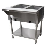 Advance Tabco 2-Well Natural Gas Steam Table - HF-2G-NAT