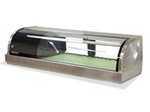 Hoshizaki Countertop See-Thru Refrigerated Sushi Display Case, (HNC-120BA-L-SL)