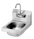 Krowne 12-inch Wide Wall Mount Hand Sink, (HS-9L)