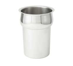 Winco INS-2.5 Stainless Steel Vegetable Inset - 2.5 Qt.